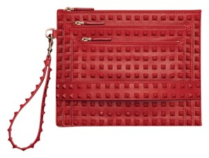 Valentino Wristlet in Red