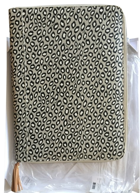 Item - Gray Black and White Laptop Case Or Document Holder Tech Accessory
