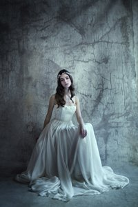 Leanne Marshall Inspired Local Tailor Customized Wedding Dress Wedding Dress