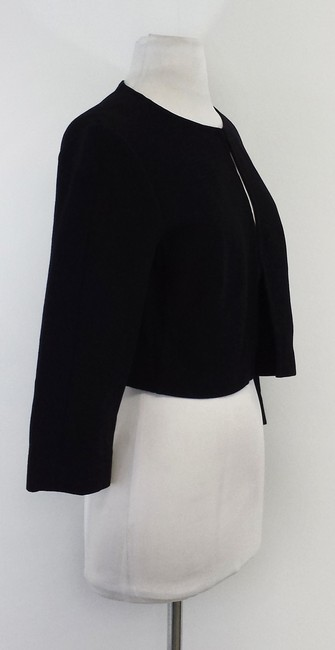 Lafayette 148 New York Wool Black Jacket Image 1