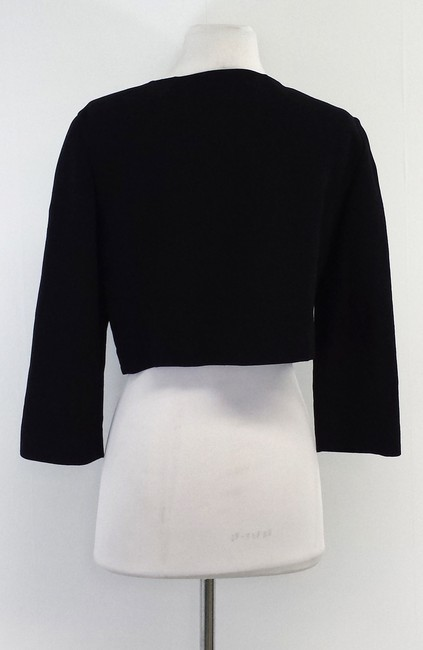 Lafayette 148 New York Wool Black Jacket Image 2