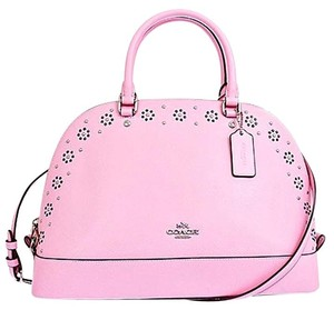 Coach F37238 Satchel in Petal Pink