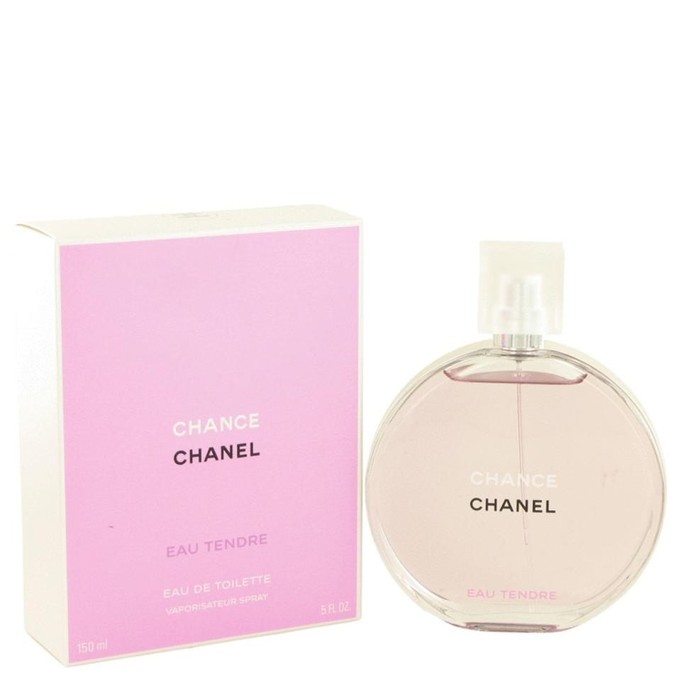 chanel chance eau tendre by chanel eau de toilette spray 5 oz. Black Bedroom Furniture Sets. Home Design Ideas