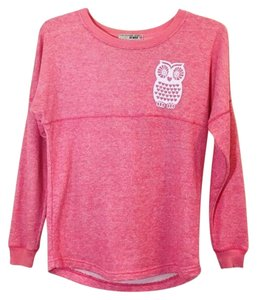 Macy's Pink Owls Chaos Comfy Sweater