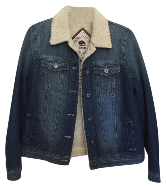 Preload https://item3.tradesy.com/images/denim-faux-shearling-size-4-s-2024177-0-0.jpg?width=400&height=650
