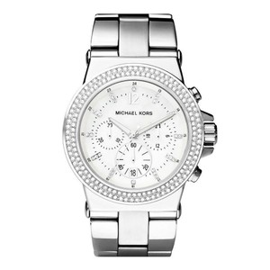 Michael Kors NWT women's Dylan glitz chronograph watch