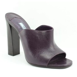 Prada Dark purple Mules