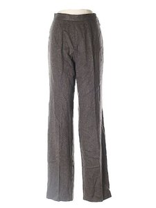 Jean-Paul Gaultier Office Casual Warm Virgin Wool Cashmere Straight Pants