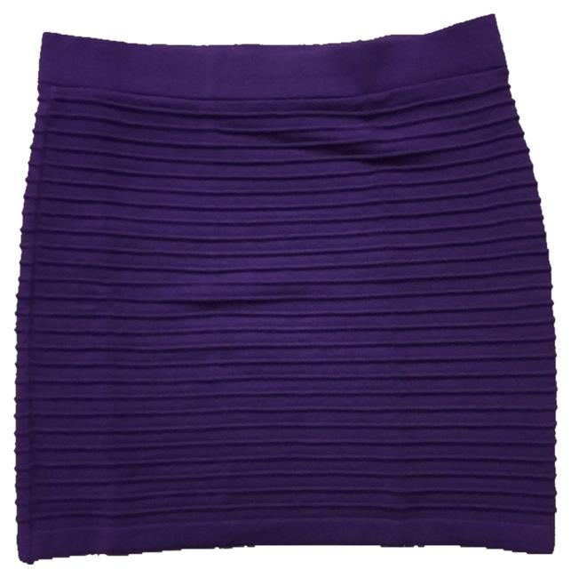 Forever 21 Skirt Purple and White