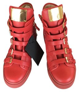 Giuseppe Zanotti Red gold Athletic