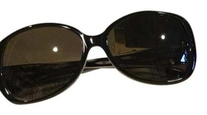 Tory Burch TORY BURCH 771016 BLACK W/WHITE PLASTIC TY7019 SUNGLASSES