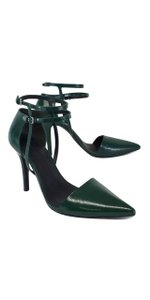 Alexander Wang Green Patent Leather Sandals