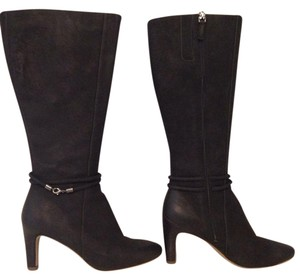Ecco Knee High Tall Boot Black Boots