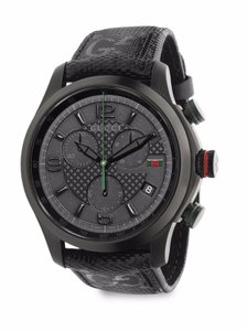 Gucci Gucci G-Timeless Stainless Steel Chronograph Watch