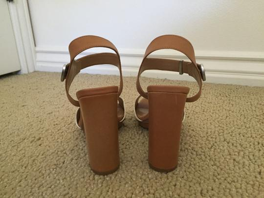 Dolce Vita tan and white Sandals