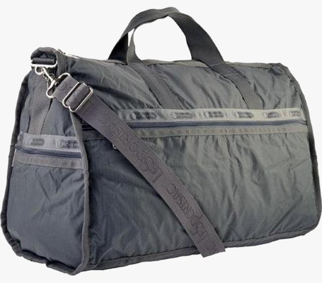Item - Women's Large Zinc (No Pouch Included) Grey Nylon Weekend/Travel Bag
