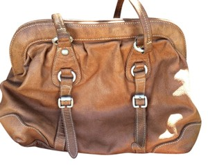 7 For All Mankind Satchel in Brown