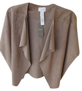 Chico's Short Length COGNAC Jacket