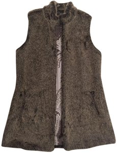 J.McLaughlin J Mclaughlin Faux Fur Vest Fur Coat