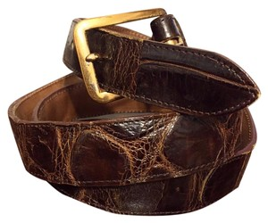 Other American Alligator Genuine Leather Dress Belt