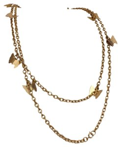 Sarah Coventry Long Sarah Coventry Charm Necklace Multi Wrap Gold Tone