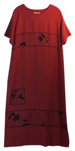 Rust Maxi Dress by Lutar