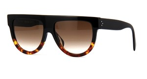 Cline CL 41026 FU5 New Cline Shadow Sunglasses BLACK TOP - TORTOISE BOTTOM - Free 3 Day Shipping