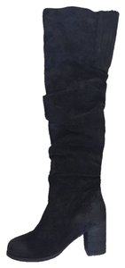 Jeffrey Campbell Thigh High Suede black Boots