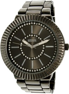 Kenneth Cole Kenneth Cole Women's 10021668 Black Gloss Stainless-Steel Quartz Watch
