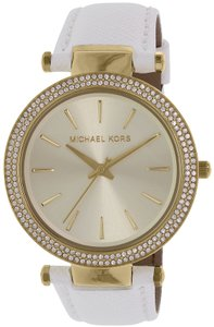Michael Kors Michael Kors Women's Darci MK2391 White Stainless-Steel Quartz Watch
