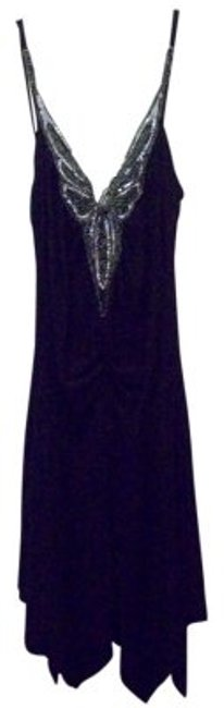 Preload https://item4.tradesy.com/images/capricho-black-mid-length-night-out-dress-size-petite-8-m-20243-0-0.jpg?width=400&height=650