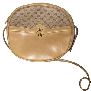 Gucci Canteen Horse Bit Leather Cross Body Bag