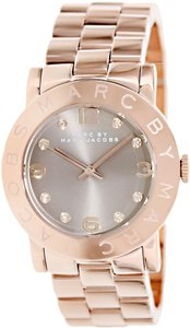 Marc by Marc Jacobs Marc by Marc Jacobs Women's Amy MBM3221 Rose-Gold Stainless Watch