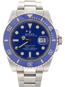 Rolex Rolex Submariner Date 18K White Gold Blue Ceramic Bezel 40MM 116619