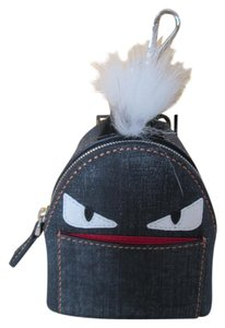 Fendi Monster Fur Charm Backpack