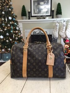 Louis Vuitton Carry All Luggage (Monogram) Travel Bag