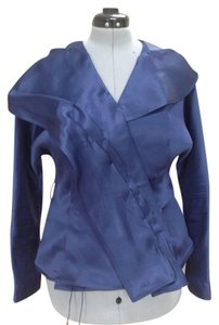 Gianfranco Ferre Made In Italy Top Navy blue