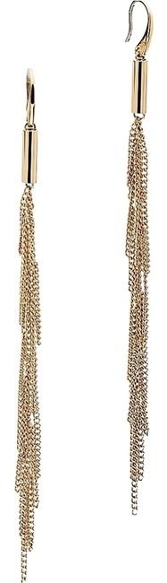 Michael Kors Gold Mkj5790 Polished Modern Chain Fringe Dangle Earrings Michael Kors Gold Mkj5790 Polished Modern Chain Fringe Dangle Earrings Image 1