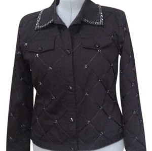 REDD jeans Ribbon & Sequences Black Jacket