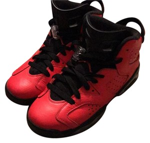Air Jordan Red/blck Athletic