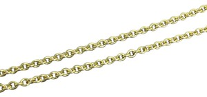 Other 14K Yellow Gold Rolo chain 24 inches ~1.50mm