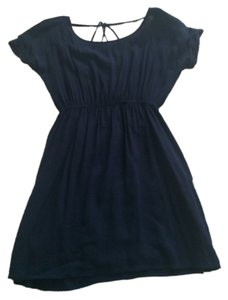 Noble short dress Navy Blue on Tradesy
