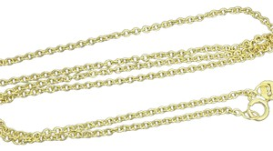 Other 14K Yellow Gold Rolo chain 18 Inches ~1.50mm