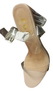 Ego Clear nude Sandals