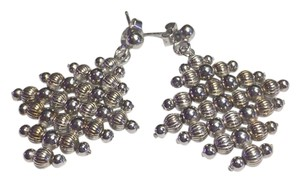 9.2.5 Sterling earrings with multiple beads dangling.