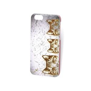 Case Yard NEW Cherry Wood iPhone Case with Vintage Kitten Design, iPhone 6s+
