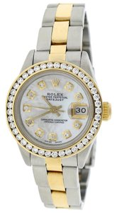 Rolex Rolex Datejust Ladies 2-Tone Gold/Steel 26mm White MOP Dia Dial/Bezel
