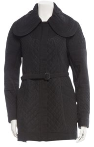 Burberry Quilted Belted Jacket Coat