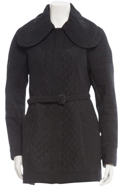 Preload https://item3.tradesy.com/images/burberry-black-quilted-belted-jacket-size-6-s-2024387-0-0.jpg?width=400&height=650
