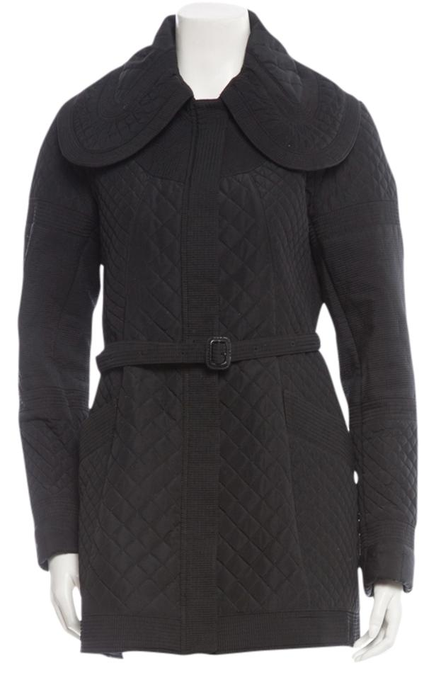 Burberry Black Quilted Belted Jacket Size 6 (S) - Tradesy : burberry quilted belted jacket - Adamdwight.com